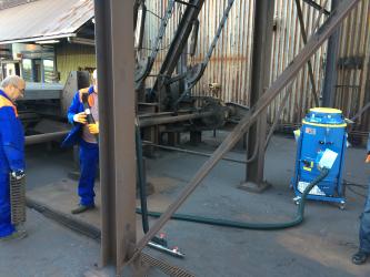 Stofzuiger werkplaats industriële stofzuiger