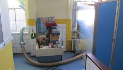 Asbest-stofzuigen-zuigslang